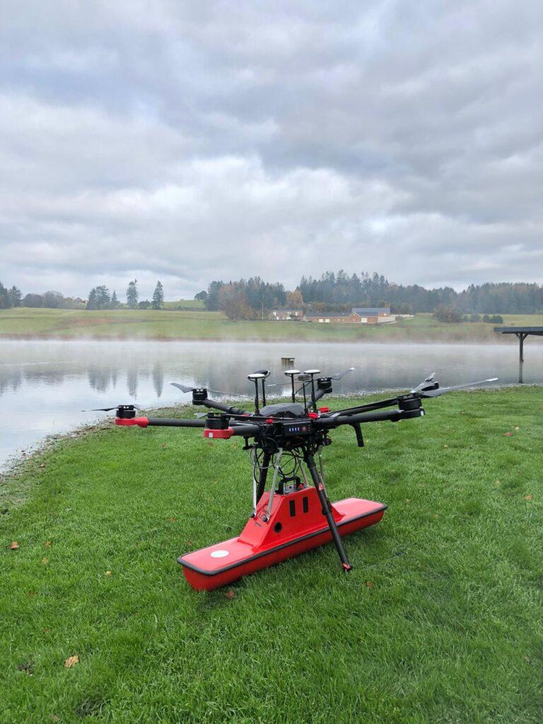 Droneradar, GPR,Georadar